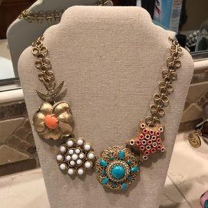 Stella & Dot birds of paradise necklace